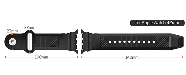Genuine Spigen Rugged Band For Le Watch Strap Replacement Exchange 42mm 2 Jpg